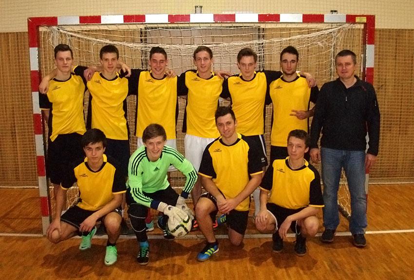 SŠPU Hodonín - středoškolská futsalová liga