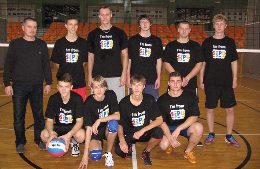 Vítězný tým chlapců