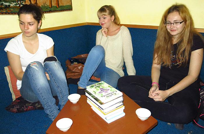 Milovníci literatury v čajovně