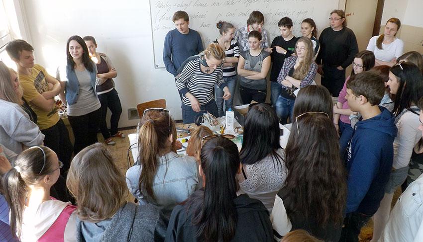Demonstrace Tiffany techniky s přednáškou - Zuzana Rosecká