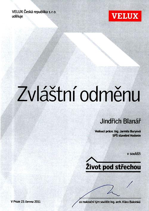 Diplom Velux 2011