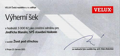 Šek Velux 2011